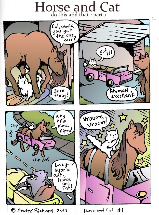 HORSEANDCAT