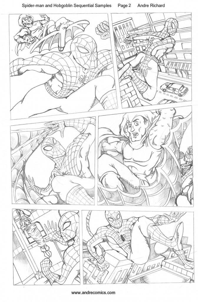 Spider-manHobgoblinPage2AndreRichard